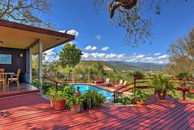Escape to a tropical retreat at this 3-bedroom vacation rental home in Ponce.