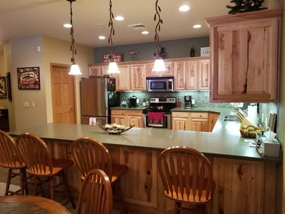Photo for 3 Bedroom, 2 Bath, Lake View, Walk out On Castle Rock Lake, 30 Mins from Dells