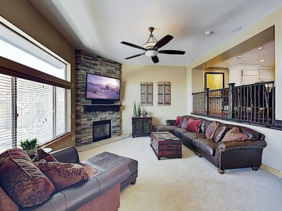Photo for Bear Hollow Ski Retreat w/ Hot Tub - 8 Minutes to Canyons Village Lifts!