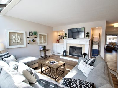 Photo for Brand New Renovations Completed! - Fantastic Townhome - Seconds From The Beach!