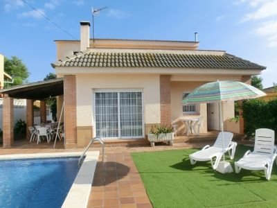 Photo for 3 bedroom Villa, sleeps 8 in Sant Genís de Palafolls with Pool and WiFi