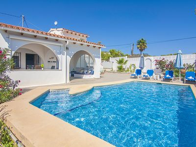 Photo for ACAEPA, villa with private pool in Benissa, Alicante free wifi