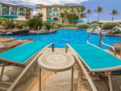 Photo for Waipouli #C-105: Deluxe Condo at Ocean Front Resort