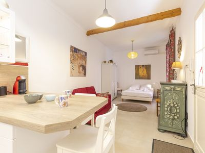 Photo for Charming Studio in the center of Antibes near the sea