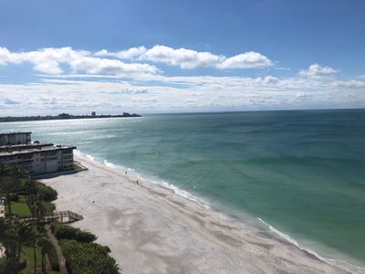 Photo for Gorgeous beachfront condo with stunning full Gulf views!
