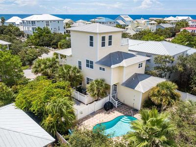 Photo for Moore Vacations - Private Pool, Close to the Beach, Old Florida Beach Community!
