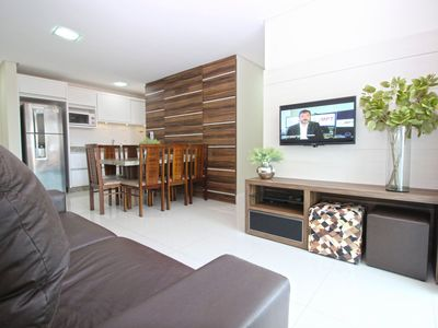 Photo for Well located apartment in Bombinhas Beach