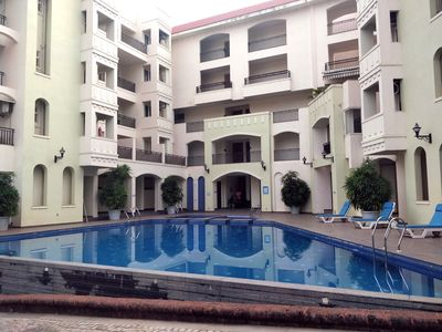 Photo for Casa Serena - Elegant 2BHK Serviced Apartment with Pool in Siolim, North Goa