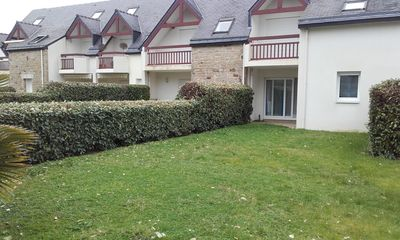 Photo for Carnac Beach Apartment T2 bis garden Legenese beach at 300m