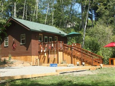 Photo for Scotty Point Cabin - Secluded, Fresh, & Right on the Coast!