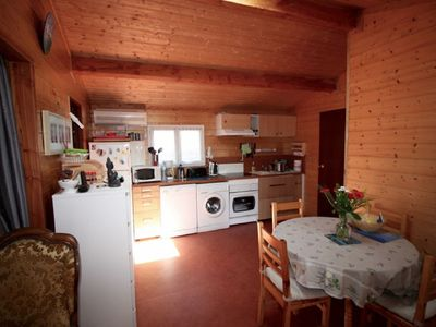 Photo for Magnificent chalet on the edge of the Arcachon basin