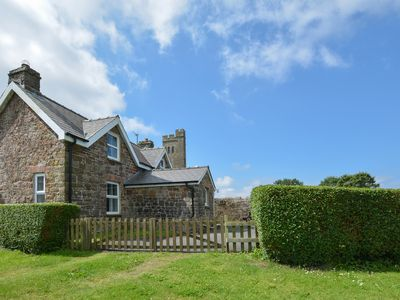 Photo for This traditional stone cottage adjoins the village hall in Walwyn's Castle, a hamlet two miles from