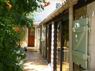 Photo for Gîte l Oliveraie for 2 persons or family with 2 small children.