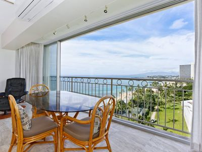 Photo for Beachfront, sweeping ocean views!  Newly remodeled, A/C, Parking, Washlet!