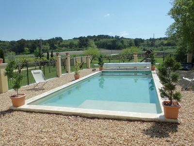 Photo for Large villa with private swimming pool in Provence on a closed ground of 2500 m²