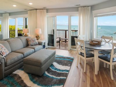 Photo for Gorgeous East Bay Views directly on the sand