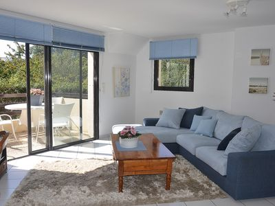 Photo for Superb 3 bedroom apartment in PERROS-GUIREC center with private parking