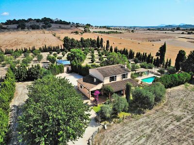 Photo for Castellet Majorcan villa with swimming pool and orange trees 120