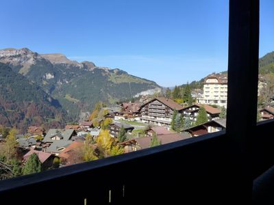 Photo for Apartment 589 m from the center of Lauterbrunnen with Internet, Washing machine, Balcony (38559)