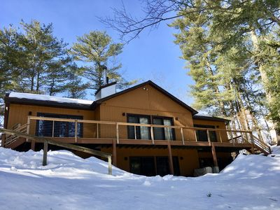 Photo for The Roost, a lakefront 4 season home in the Adirondack Mountains