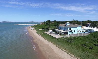 Photo for Spectacular Villa with Five Suites, on the Sand in Praia Rasa
