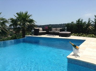 Photo for Luxury Provencal Villa in private golf domaine with own pool and lovely views