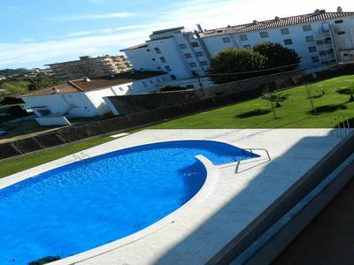 Photo for Duplex apartment with pool and two parking