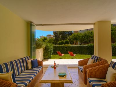 Photo for Hacienda Playa apartment with a large terrace and shared garden