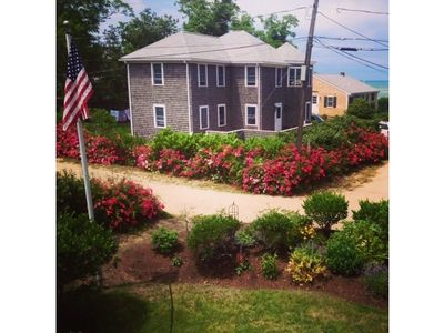 Photo for Fabulous Brewster 4BR, Exclusive Pineland Park, Views of Bay, Steps to Beach