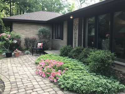 Photo for PRIVATE WOODED RETREAT - Unique and beautiful setting