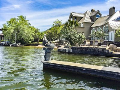 Photo for Premier, Lake LBJ waterfront estate in Horseshoe Bay