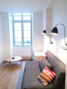 Photo for Downtown Saint Jean de Luz ⎜Beautiful studio apartment · 20m from the beach