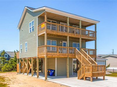 Photo for Stylish Oceanview Getaway in Salvo w/ Hot Tub, Grill, Smart TV, & Dog-Friendly