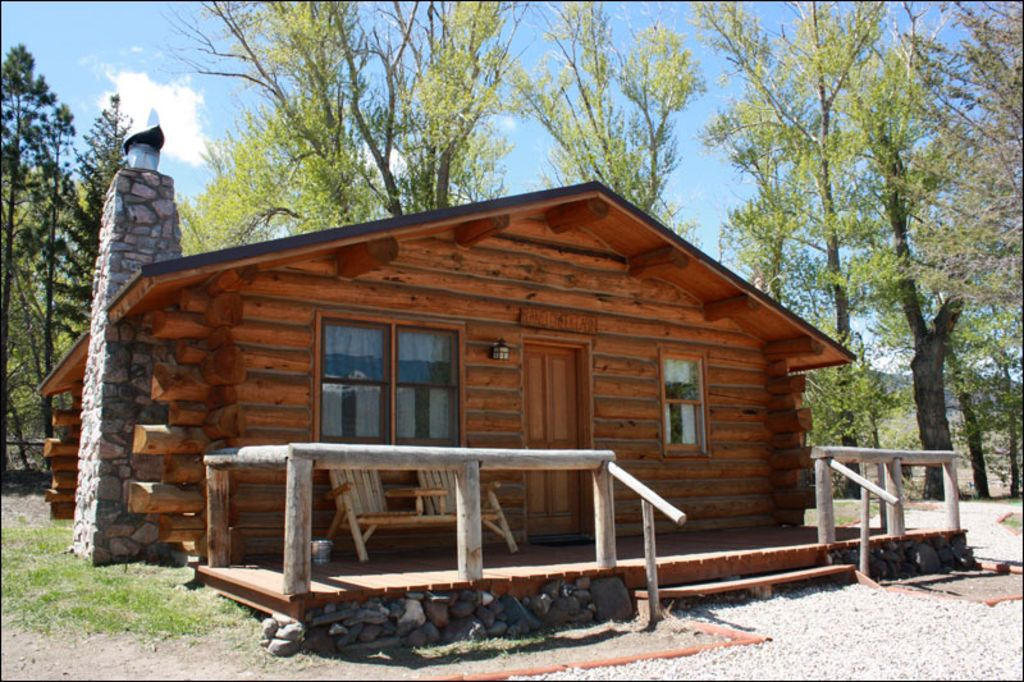 Scenic ranch avec cabine confortable wyoming 429452 for Cabine occidentali yellowstone