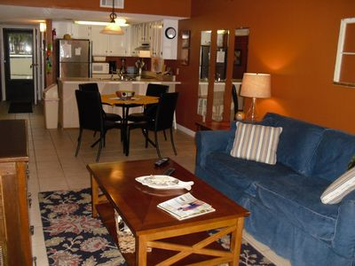 Photo for Great Condo for a Family or for Two..Great Decor, Relaxing.
