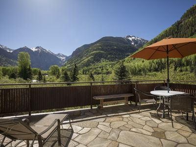 Photo for Rivercrown 2: Luxury Townhome With The Best Views In Telluride (4 Br / 3.5 Ba)