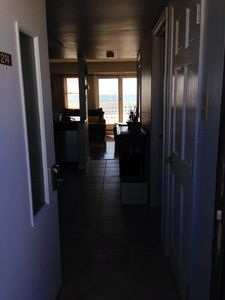 You can see the ocean as soon as you open the front door.