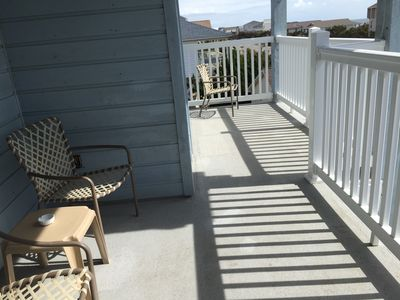 Photo for Nice 3 bedroom 2nd row condo with ocean views