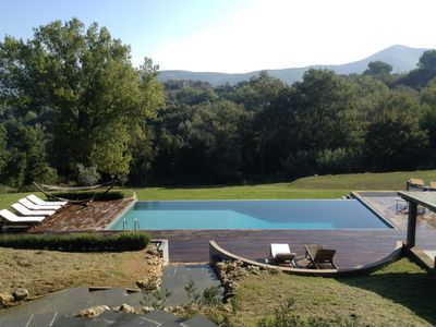 Photo for Casale Terni rises on top of a hill with splendid views over the countryside and Todi area