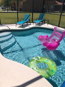Photo for Peaceful Private Pool Home by Disney with game room