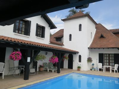 Photo for Spacious house with private pool, situated with countryside views.