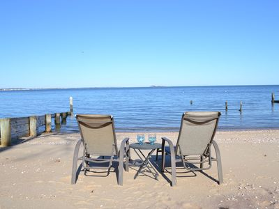 Waterfront Luxury Home & Private Beach.  Book Spring, Summer, Fall & Academic