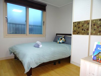 Photo for Hello JEJU! Full center, Private room. Large terrace and superb view.