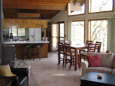 Photo for Beautiful 3BR/2BA Lodge Home in Redding, Lake Shasta - 5 Acres