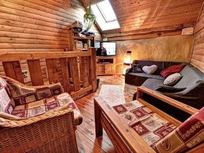 Photo for Ecological house 5 minutes from Briancon, 8 people, 2 ears, comfort, SPA 6