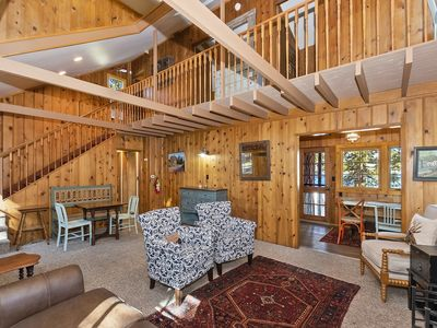 Photo for Happy Lake Cottage: Rare Vintage Lakefront with Serene Lake Views and Rustic Charm!