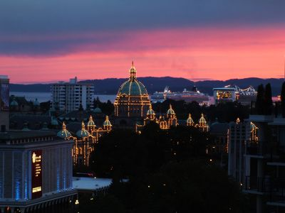 Photo for Best Views in Victoria from this Spacious 2 BR/2 BA, 2 Balcony Luxury Condo