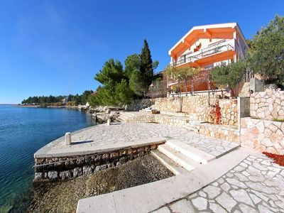 Photo for Holiday apartment directly at the Adriatic Sea
