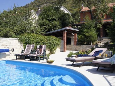 Photo for With a pool in the garden - Vacation home Križišće