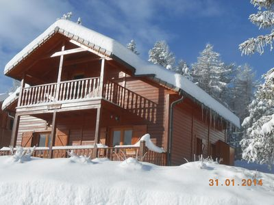 Photo for LUXURY CHALET 10 PERS. 130m2 WITH WIFI, STEAM, SAUNA, RECOMMENDED BY FORMER LOCATAI